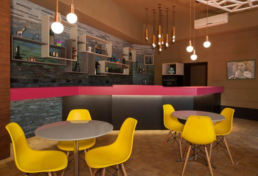 Gerson Dutra de Sá e Ana Lucia Salama, Café & Conforto. O ambiente Café & Conforto possui 80m² e oferecerá aos visitantes de CASA COR pratos deliciosos da Doce Arte.