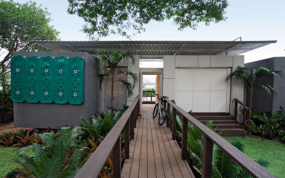 Casa Sustentável - Mindlin Loeb e Dotto Arquitetura Inovatech. Os arquitetos Caio Dotto e Rodrigo Mindlin Loeb, junto com o engenheiro Luiz Henrique Ferreira, apresentam sua proposta de moradia modular e desmontável.