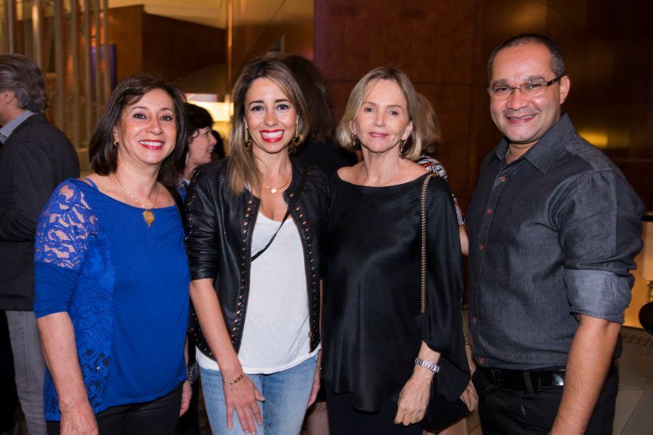 Vera Capaverde, Karina Capaverde, Sheila Podestá e Alessandro Silva
