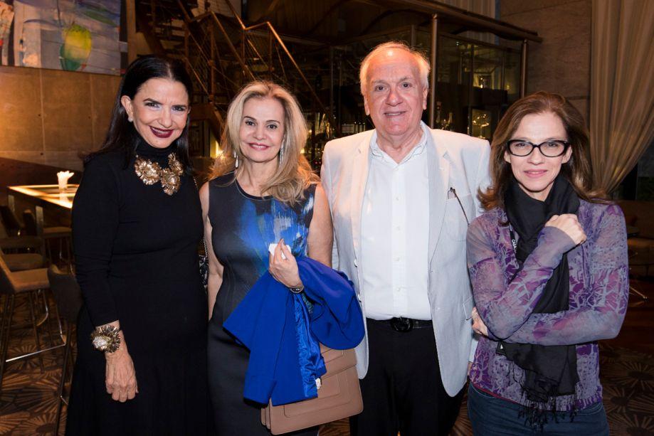 Moema Leão, Emili Giglio, Vagner Giglio e Juliana Grillo