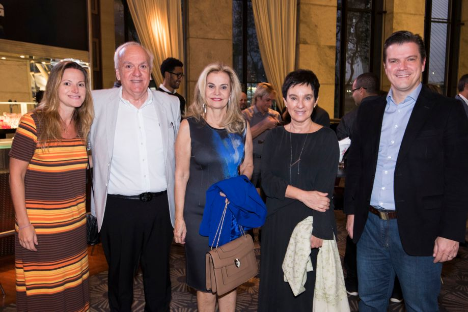 Andrea Abelleira, Vagner Giglio, Emili Giglio, Livia Pedreira e Fabio Gallo