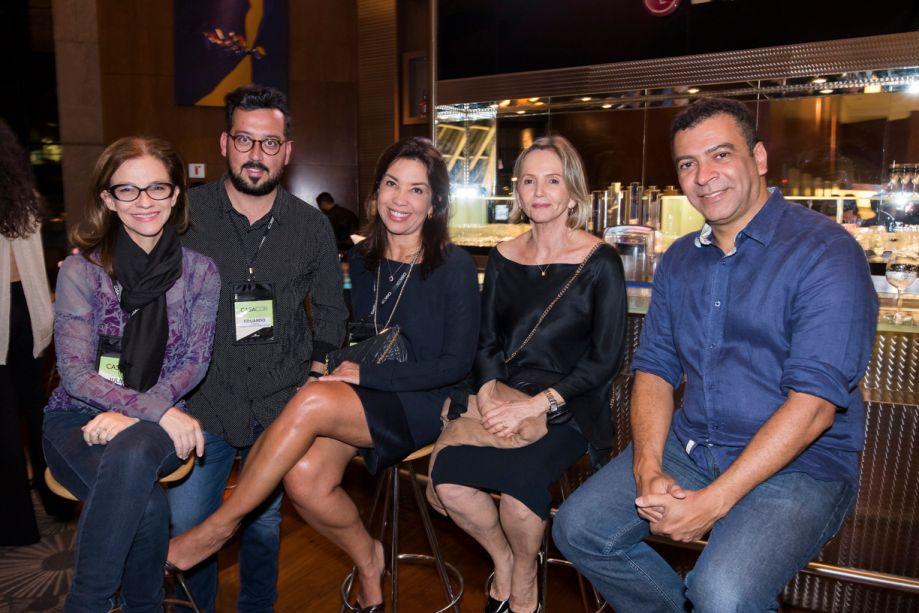 Juliana Grillo, Eduardo Faleiros, Eliane Martins, Sheila Podestá e Pedro Ariel