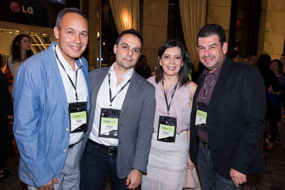 Fred Breed, Lucio Grimaldi, Graciela Angrarill, Luis Alberto Velasco