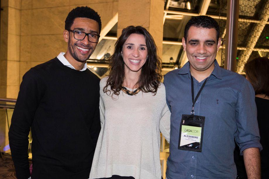 Victor Santo, Graziela De Caroli e Alexandre Menezes