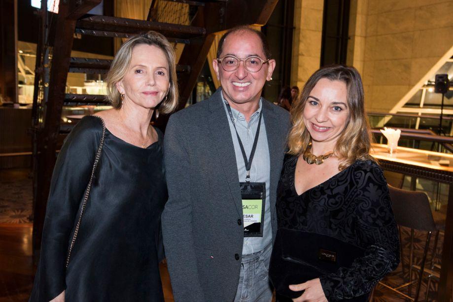 Sheila Podestá, Cesar Revorêdo e Marcia Carini