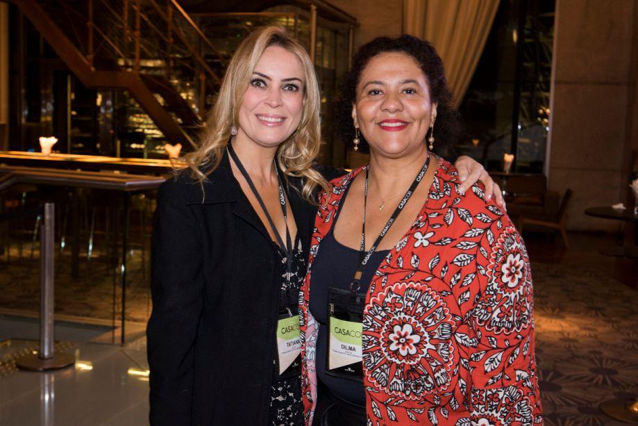 Tatiana Ratier e Dilma Bernardes