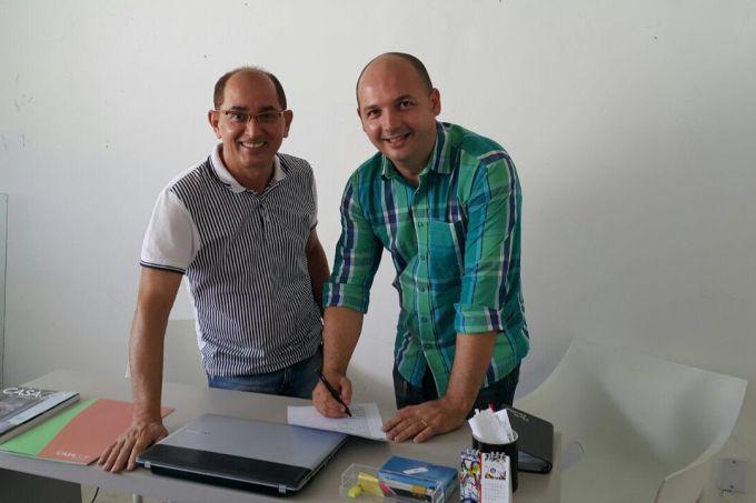 Cesar Revorêdo e Adeílton Pereira