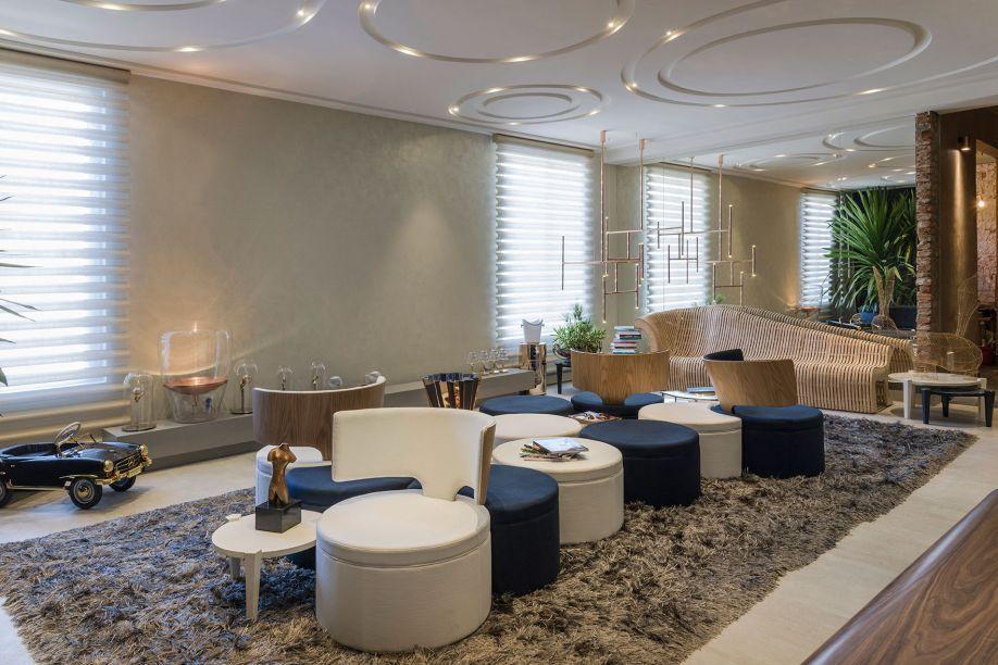 CASACOR Goiás 2016 | No Lounge 20...30..., a proposta é relaxar em um ambiente que assimila inovação, qualidade e beleza.