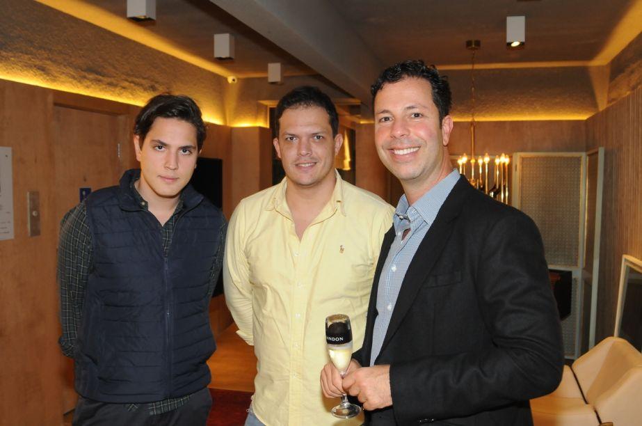 PAULO AZEVEDO, GUSTAVO PASCHOALIM E MARCOS SANCOVSKY