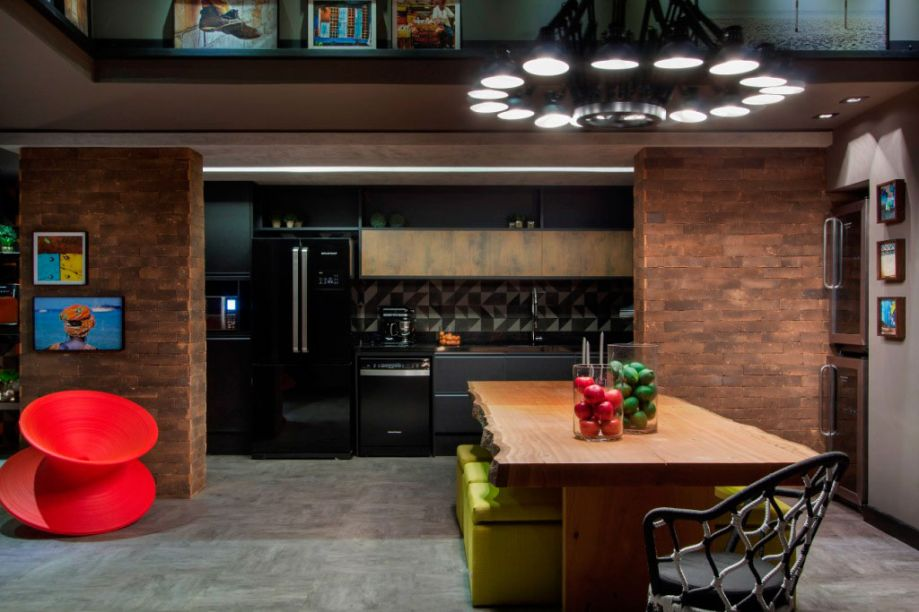 CASACOR São Paulo - Rodrigo Costa e Alessandra Marques - ambiente: Lounge Gourmet da Brastemp