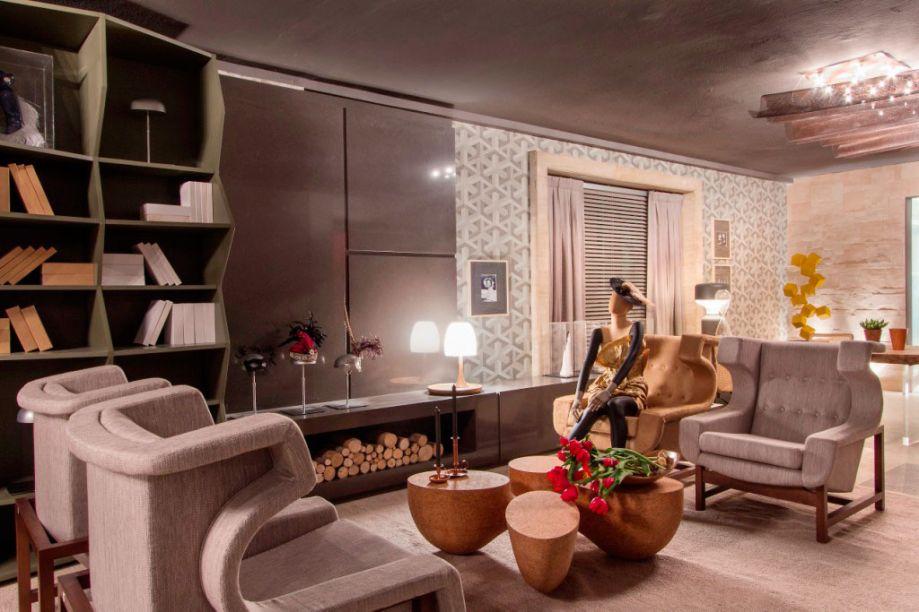 Rodrigo Costa e Alessandra Marques – ambiente: Lounge de Entrada