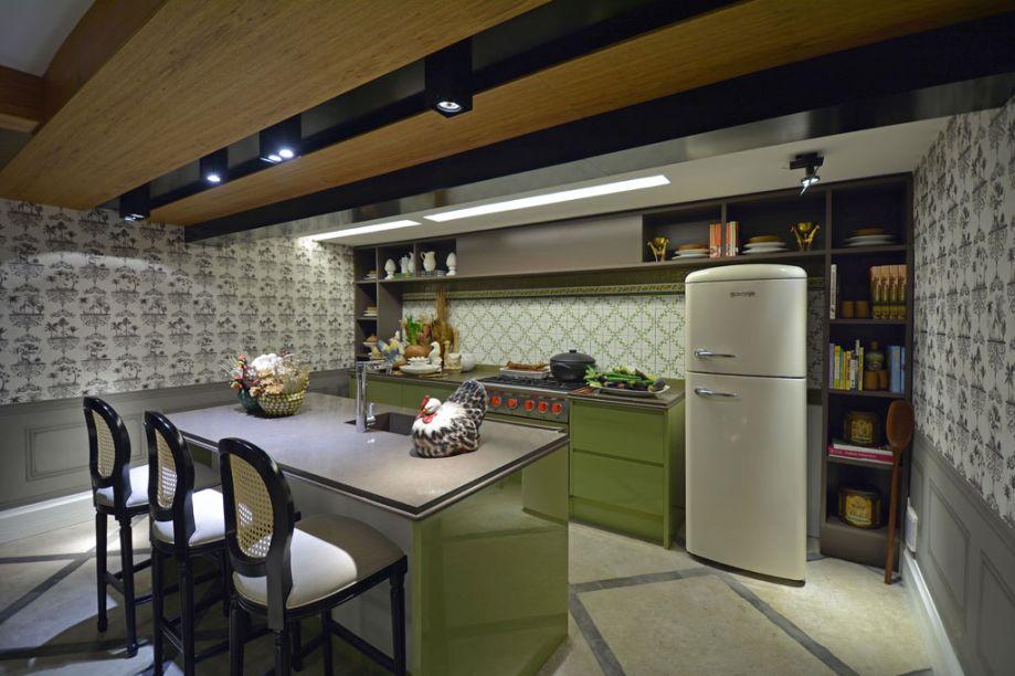 Cozinha da Vovó. Jessica De Carli e Felipe Azevedo. CASACOR Minas Gerais 2014