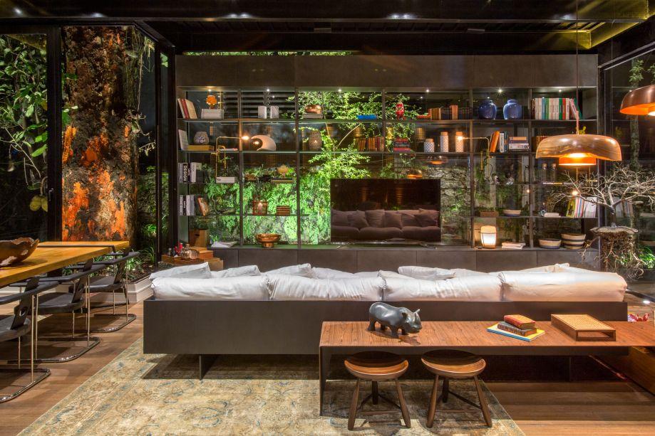 CASACOR Rio: Living Gourmet de Alexandre Gedeon e Hugo Schwartz