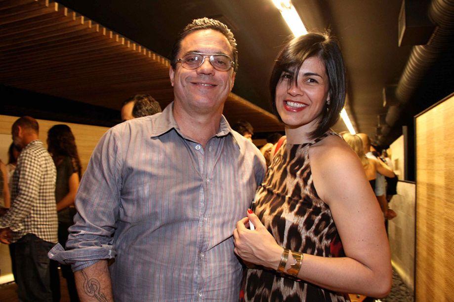 Beto Cocenza e Fernanda Bencardino.