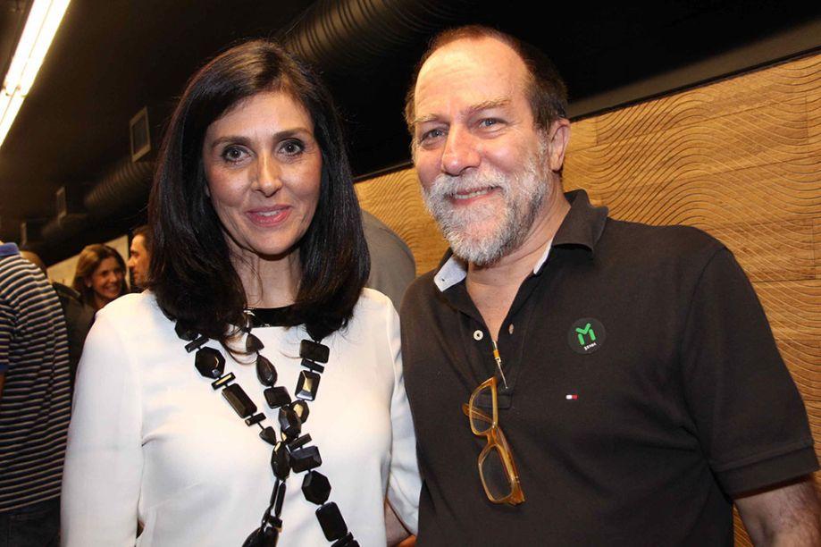 Denise Barreto e Guinter Parschalk.