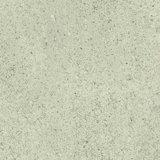 O porcelanato Duomo Grigio, fabricado pela ViaRosa, tem superfície lisa acetinada e aplicações de hematita, que reproduz micro grãos metálicos que brilham como pedras, reproduzindo a aparência do granilitti. As peças podem ser compradas nas cores Grigio, Cinza e Bege e no tamanho 57 x 57 cm.