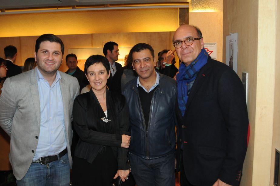 MARCELO ORLEAN, LIVIA PEDREIRA, PEDRO ARIEL E ARNALDO DANEMBERG