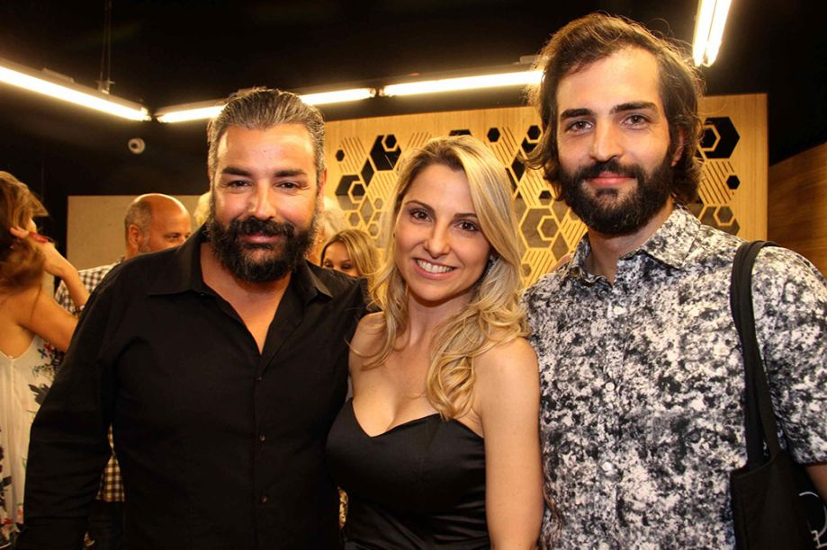 Marco Aurélio Neri, Francine Ferrari e Bruno Simões.