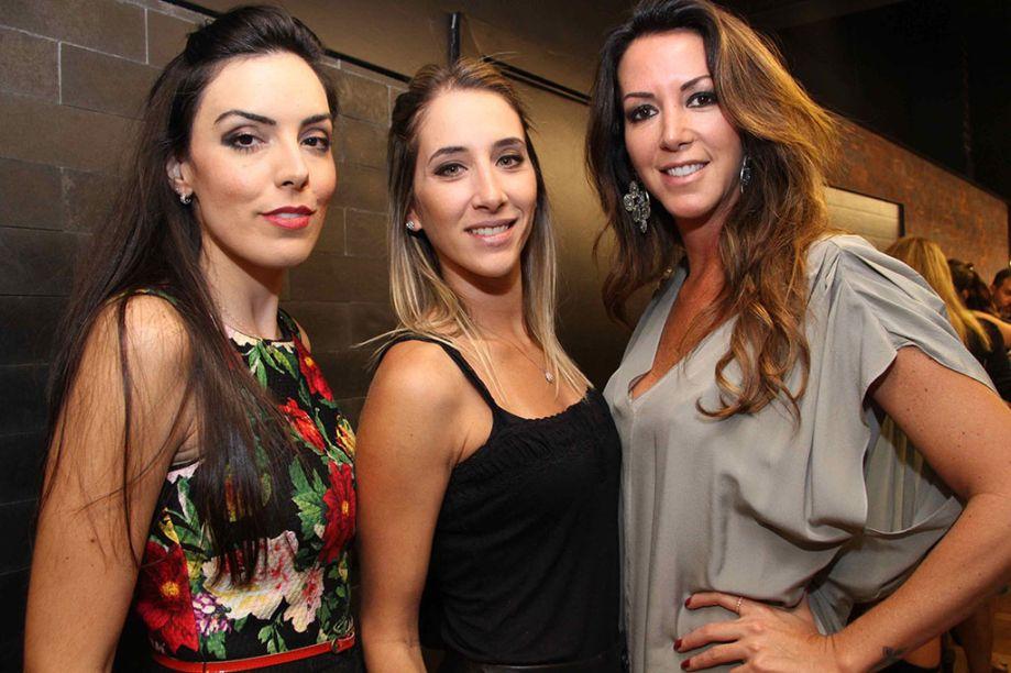 Mariana Noronha, Samra Fiorante e Heloísa Penteado.