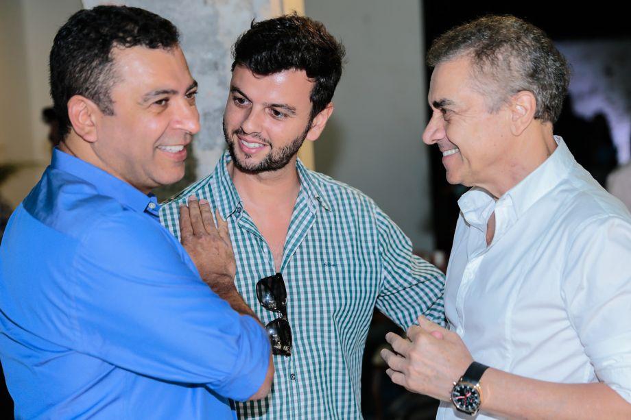 <span>Pedro Ariel Santana, Leandro Maciel e Valdecir Santos</span>