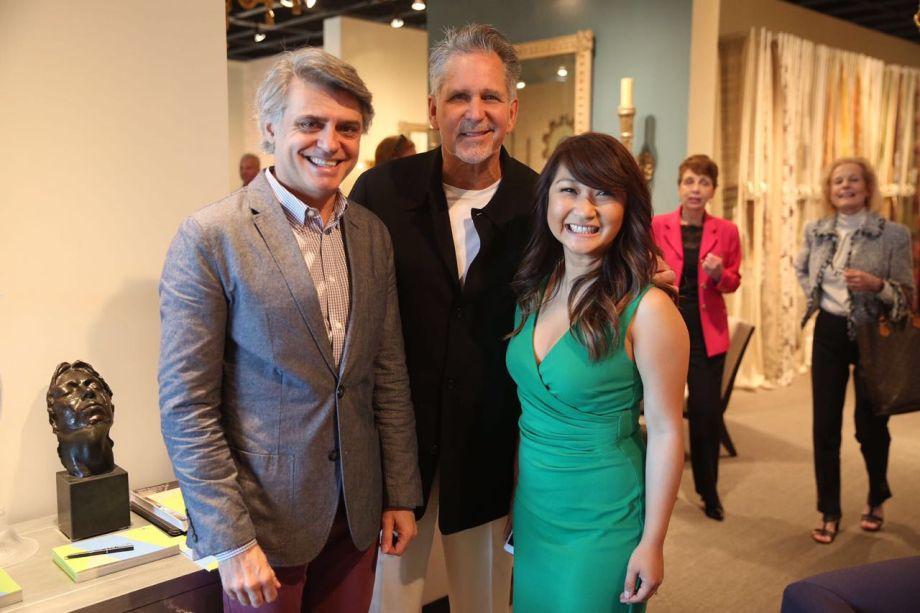 Alex Stevens, Philip Nimmo e Nancy Quynh