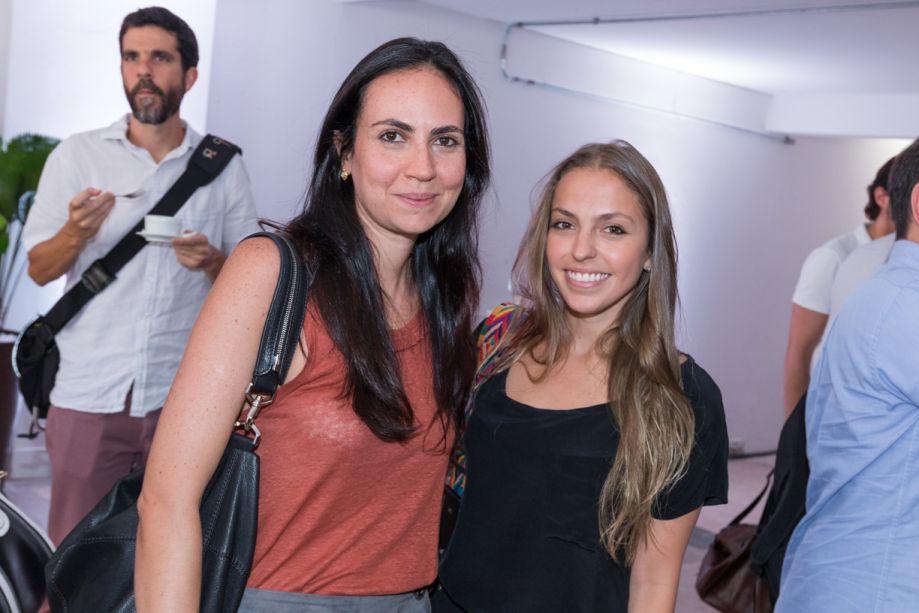 Giulliana Savioli e Barbara Gomes