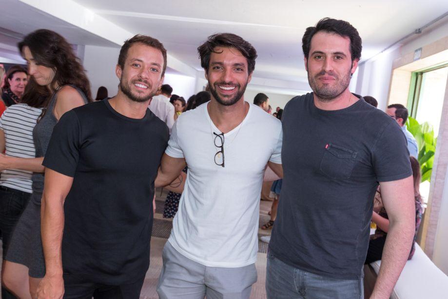 Gustavo Neves, Nildo José e Maicon Antoniolli