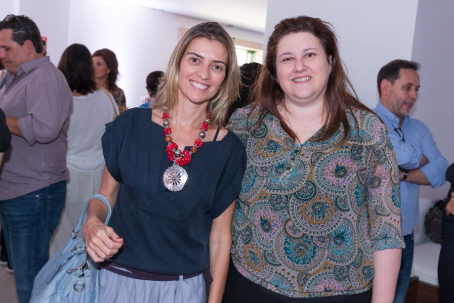 Flavia Pardini e Fátima Barnabé