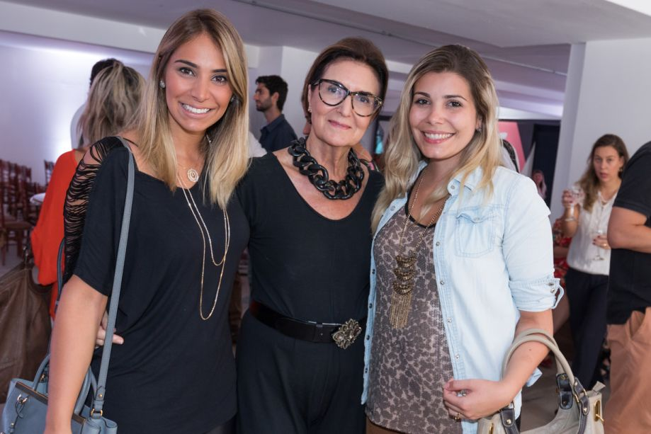 Patricia Hagobian, Cris Ferraz e Andressa Piva