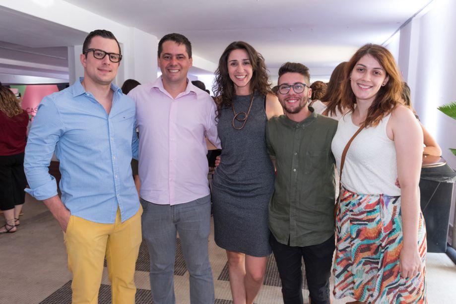 João Junqueira, Alessandro Silva, Graziela De Caroli, Alex Alcantara e Fernanda Drumond