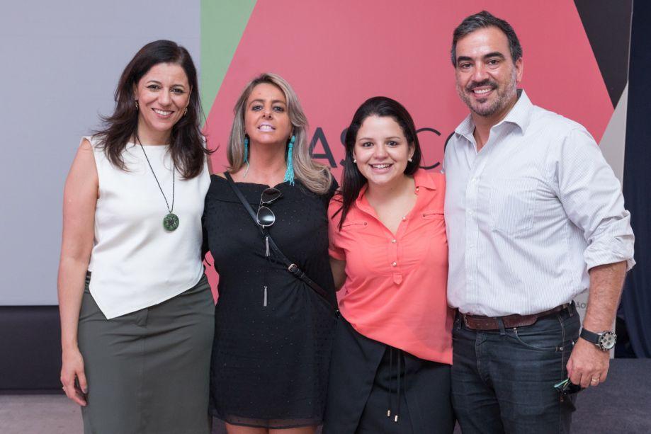 Cleide Gomes, Ana Porto, Raquel Alice e Cadu Torres