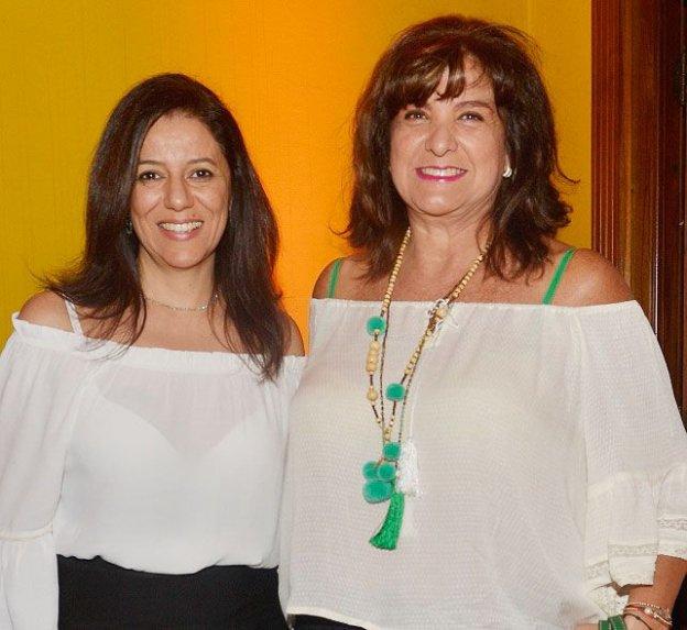 Cleide Gomes e Cecilia Ayala