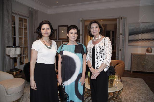 Lucila Gurovitz, Cris Ferraz e Livia Pedreira