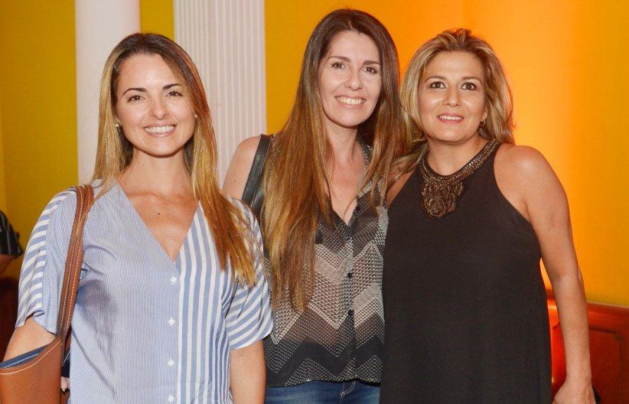 Marcela Somoza, Paola Bonaldi e Marta Carballo