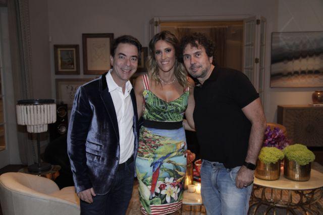 Marcelo Felmanas, Karla Felmanas e João e Armentano