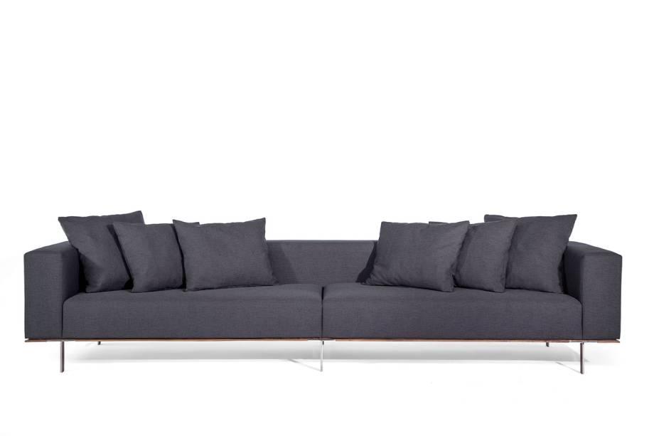 A Larco, que desenvolve móveis residenciais autorais, unindo o Design à Indústria, esteve na 31ª Paralela com seus requintados sofás que traduzem a trajetória desses 10 anos de design autoral.