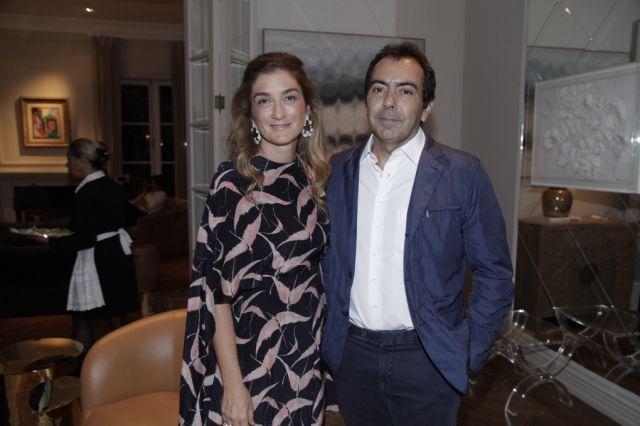 Tomas Perez e Marina Linhares