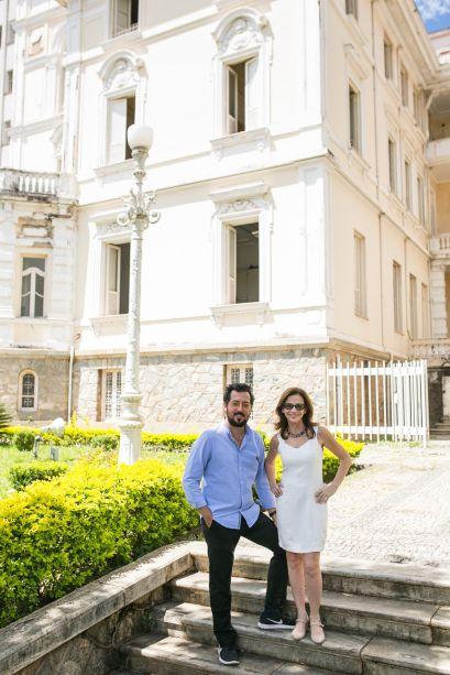 Eduardo Faleiro e Juliana Grillo