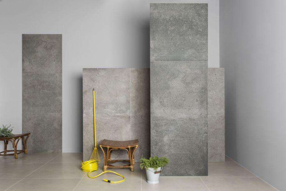Disponíveis no formato 90 x 90 cm, a versatilidade da coleção permite que os porcelanatos sejam utilizados tanto em espaços internos, como externos, em pisos e paredes.