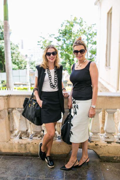 Natália Vasconcelos e Adriana Vasconcelos