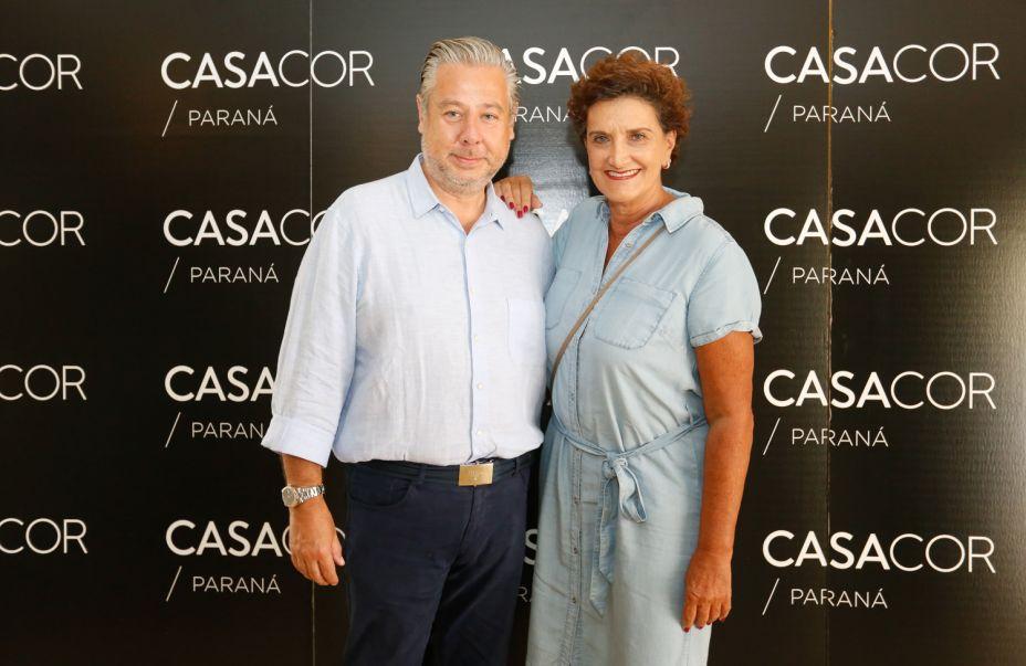 O arquiteto Eduardo Mourão e Marina Nessi