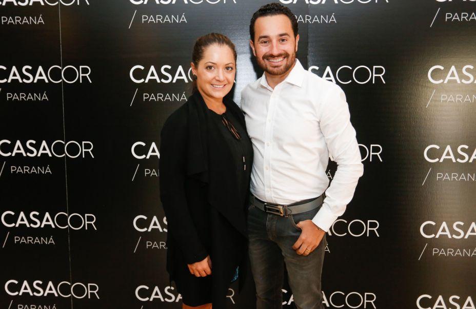 Os arquitetos Gisela Miró e Rafael Carvalho