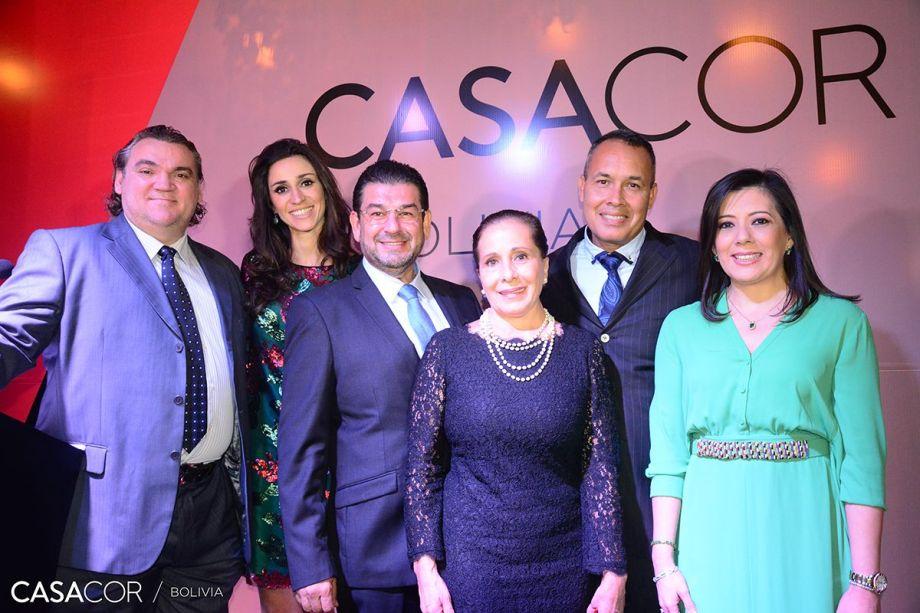 Robert Weidling Kuljis, Graziela de Caroli,<span>Quito Velasco,</span>Ruth Lozada Añez, Fred Breede e Graciela Anglarill