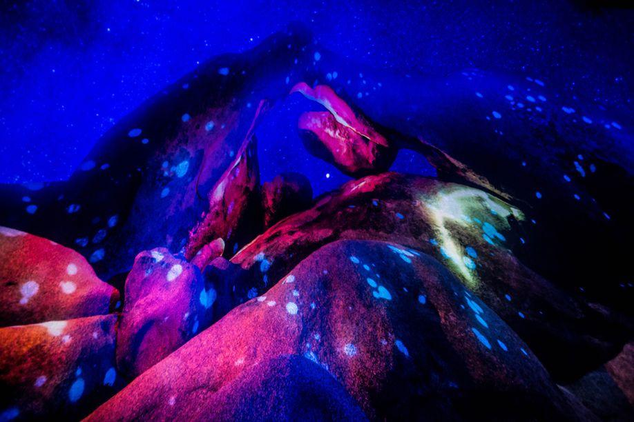 """The Antartic, por Obscura Digital.<span class=""""apple-converted-space""""><span style=""""font-size: 13.5pt; font-family: 'Georgia',serif; color: #333333;"""">Tratava-se de uma experiência em 360º alimentada por novidades da HP. Os visitantes sentavam-se em cadeiras inclináveis feitas para promoveruma visão completa do teto e então assistiam um filme de 10 minutos, com diversas imagens psicodélicas e um pouco nauseantes. Você confere um pouco da experiência no vídeo abaixo da galeria desta matéria.</span></span><span style=""""font-size: 13.5pt; font-family: 'Georgia',serif; color: #333333;""""></span>"""