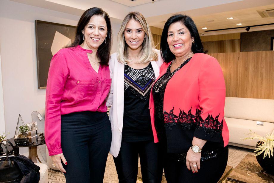 Cleide Gomes, Fernanda Dunelli ePatricia Hagobian