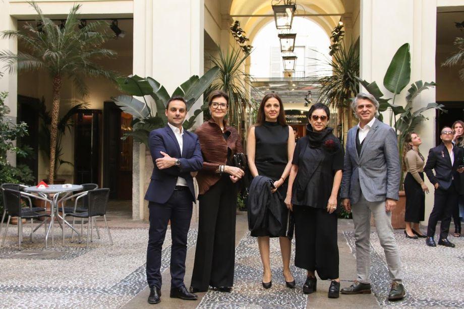 Lúcio Grimaldi, Cris Ferraz, Cris Bava, Livia Pedreira e Alex Stevens