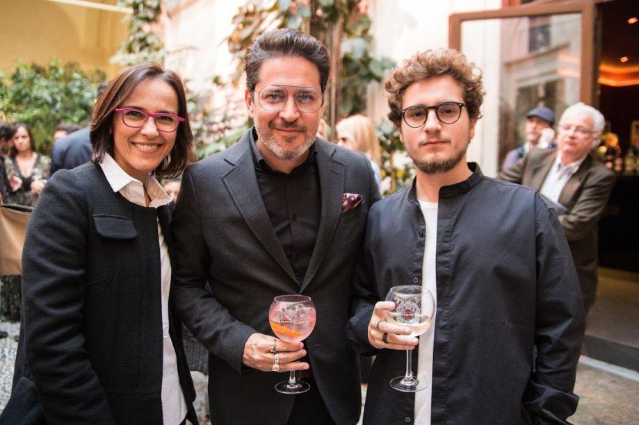 GISELLE TARANTO, CELSO RAYOL E LUIZ EDUARDO RAYOL