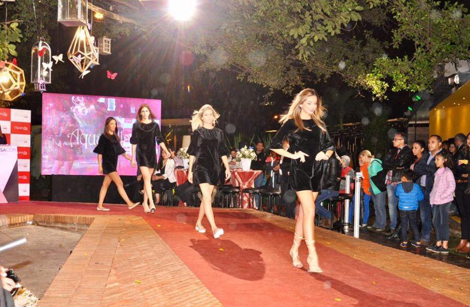 Modelos desfilam na noite fashion da Casa Cor Bolívia