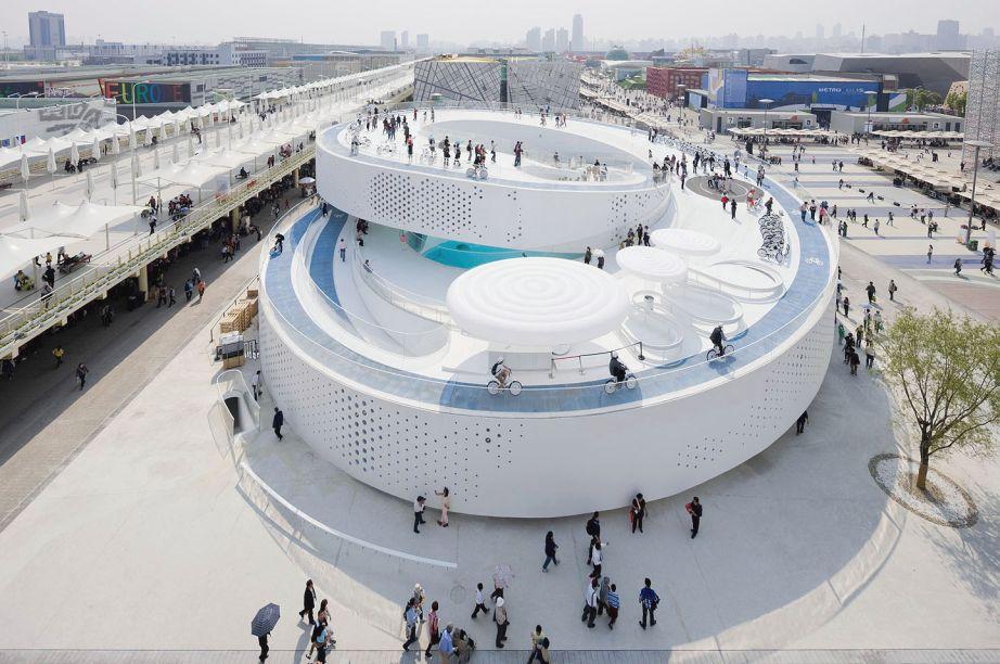 Pavilhão Danes, em Shangai