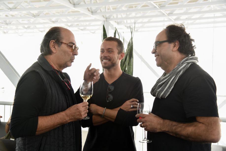 Roberto Cimino, Gustavo Neves e Nelson Amorim